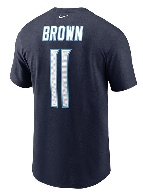 Nike Titans A.J. Brown Name & Number T-Shirt