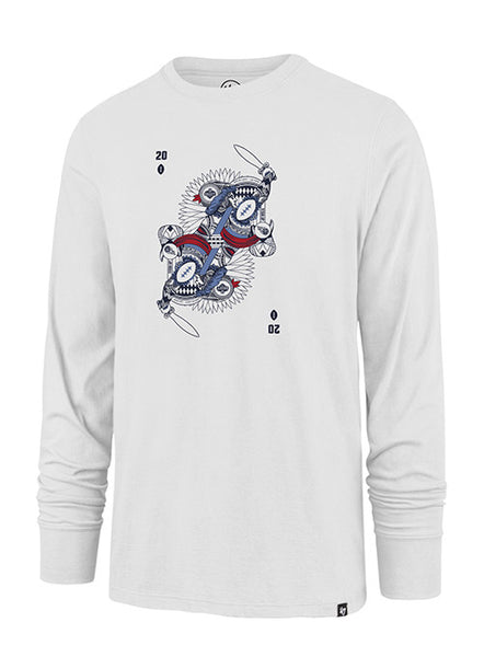 '47 Brand Titans Draft Playing Card Long Sleeve T-Shirt