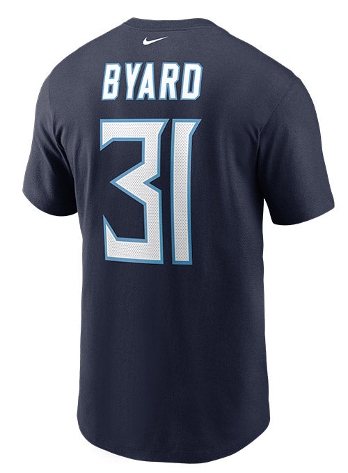 Nike Titans Kevin Byard Name & Number T-Shirt