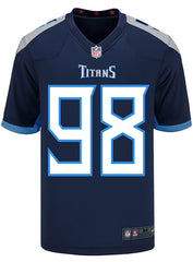 Nike Game Home Jeffery Simmons Jersey
