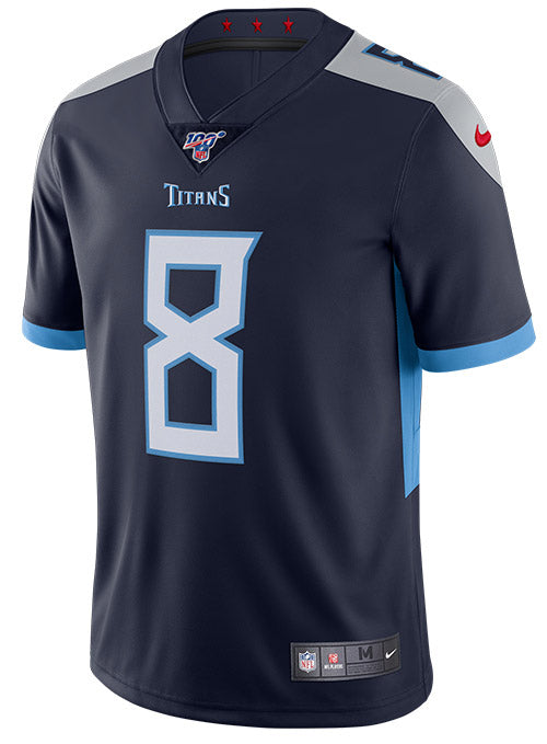 Nike Limited Home Marcus Mariota 100th Season Jersey