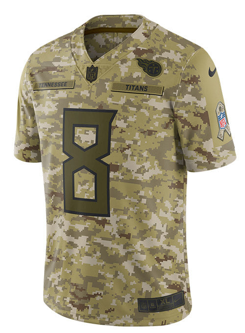 newest f83fa d8bd5 Nike Limited Marcus Mariota 2018 Salute to Service Jersey | Titans Jerseys  | Titans Locker Room