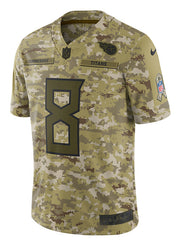 Nike Limited Marcus Mariota 2018 Salute to Service Jersey