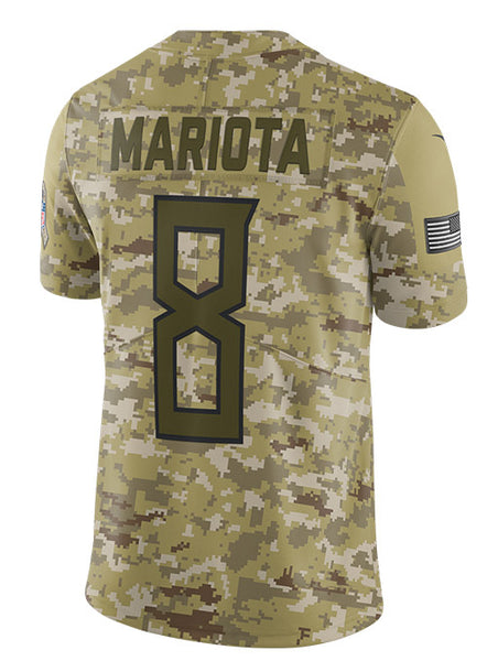 reputable site 812b1 cddb8 Nike Limited Marcus Mariota 2018 Salute to Service Jersey | Titans Limited  Jerseys | Titans Locker Room