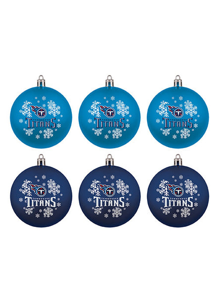 Titans Six Pack Ornament Set