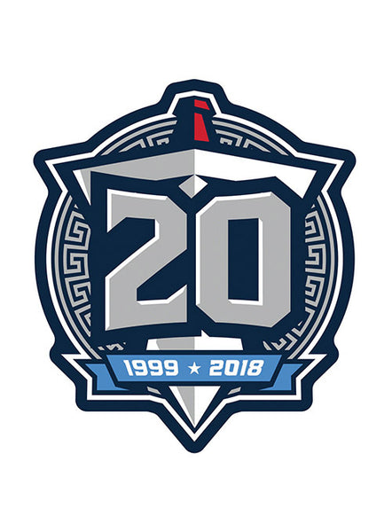 Titans 20th Season HD Magnet