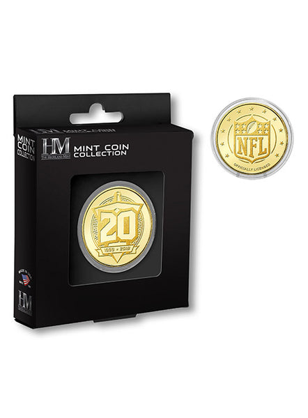 Titans 20th Season Coin