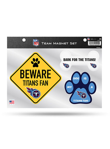 Titans Pet Magnet 3 Piece Set