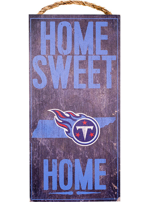 "Titans 6"" x 12"" Home Sweet Home Sign"