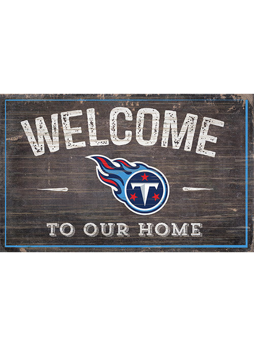 "Titans 11"" x 19"" Welcome To Our Home Sign"