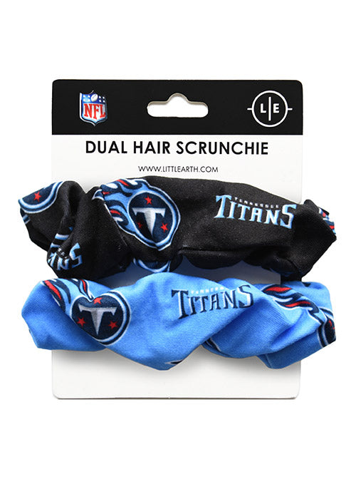 Titans Dual Team Logo Scrunchies