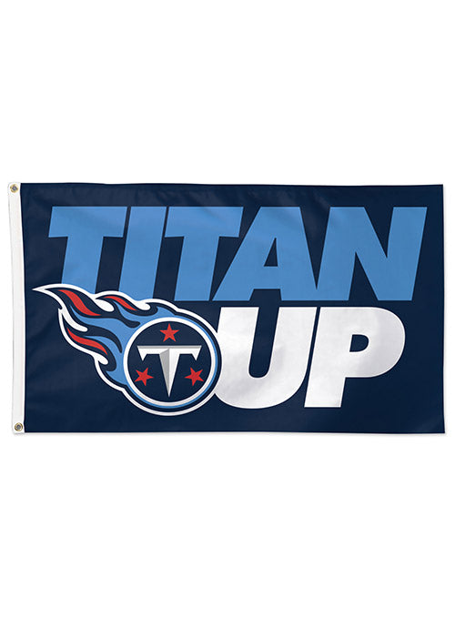 Titans 3x5 Deluxe Titan Up Flag