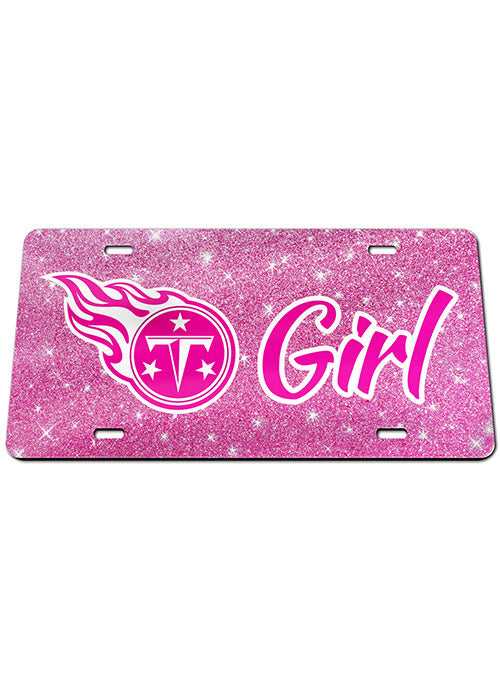 Titans Pink License Plate
