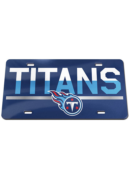 Titans Color Duo Acrylic License Plate