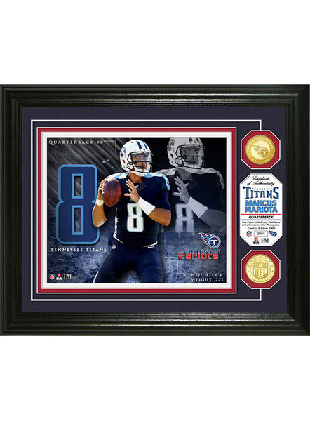 Marcus Mariota Bronze Coin Photo Mint