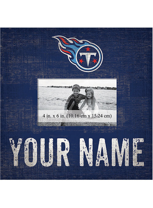 "Titans 10"" x 10"" Personalized Frame"