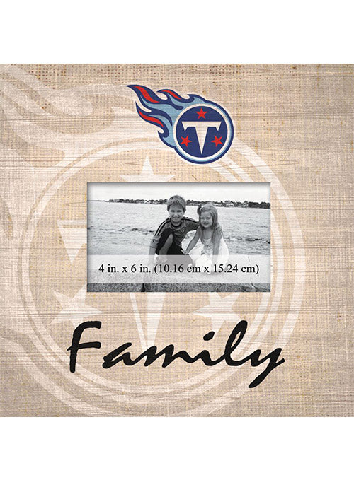 "Titans 10"" x 10"" Family Picture Frame"