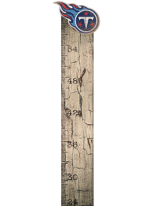 "Titans 6"" x 36"" Growth Chart Sign"