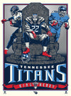 Tennessee Titans Derrick Henry 18x24 Unframed Poster