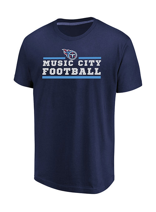 Majestic Titans Music City Football T-Shirt