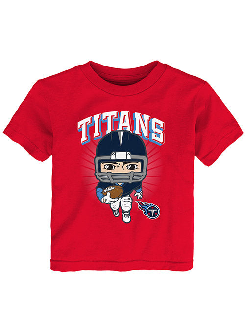 Toddler Titans Football Player T-Shirt