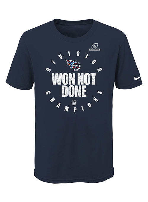Youth Nike Titans 2020 AFC South Division Champions T-Shirt