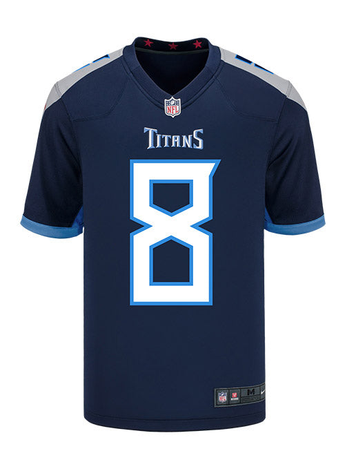 91390cd0 Youth Nike Game Home Marcus Mariota Jersey | Kids Titans Jerseys | Titans  Locker Room