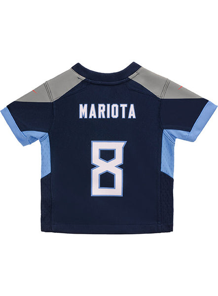 the best attitude 65f81 10699 Toddler Nike Game Home Marcus Mariota Jersey | Kids Titans Jerseys | Titans  Locker Room