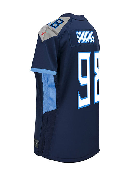 Ladies Nike Game Home Jeffery Simmons Jersey