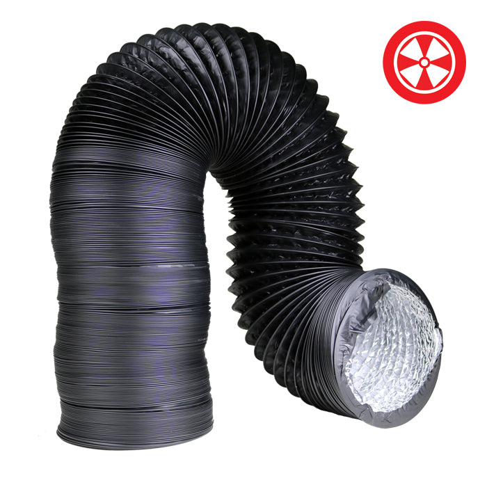 "DL Light Proof Black Ducting - 4""-6""-8""-10""-12"""
