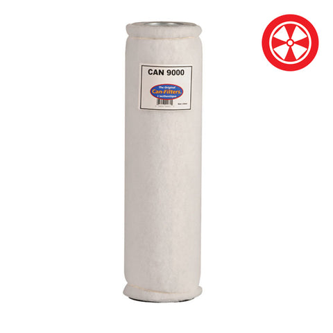 CAN FILTERS 9000 w/Pre-Filter w/o Flange 55 CFM