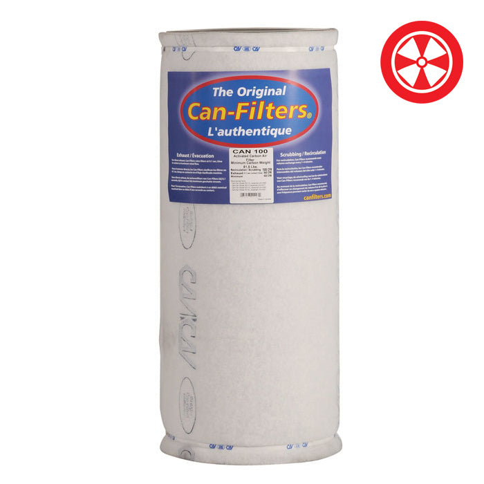 CAN FILTERS 100 w/o Flange