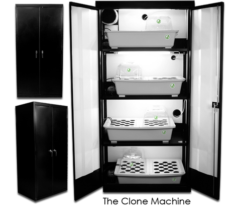 Image of SuperCloset The Clone Machine Grow Cabinet
