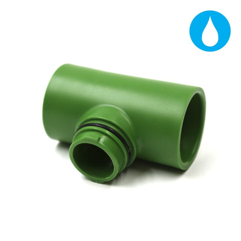 "Image of FloraFlex Flora Pipe Fitting T - 3/4""-1"""