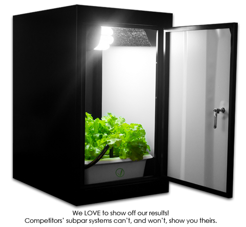 SuperCloset SuperBox CFL Grow Cabinet