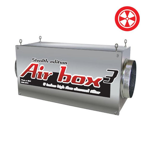 Image of Air Box 3, Stealth Edition 8''