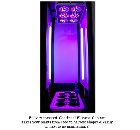 Image of SuperCloset SuperLocker 3.0 LED Grow Cabinet