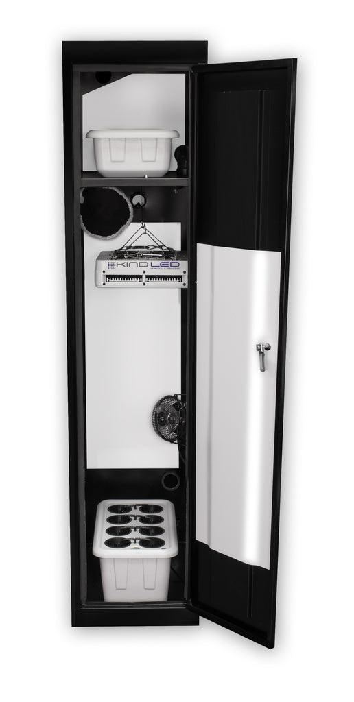 SuperCloset SuperLocker 3.0 LED Grow Cabinet