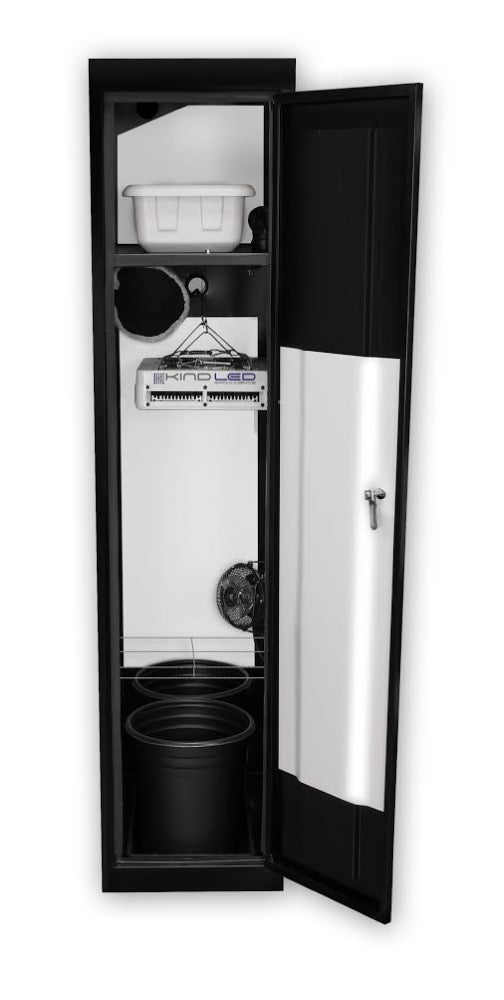 SuperCloset SuperLocker 3.0 LED Soil Grow Cabinet