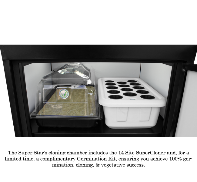 SuperCloset SuperStar 3.0 LED Grow Cabinet