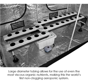 SuperPonics 26-Site Super Flow Hydroponic Grow System