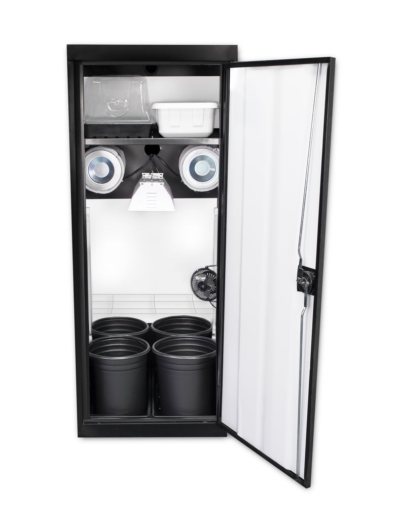 Supercloset SuperStar HPS Soil Grow Cabinet