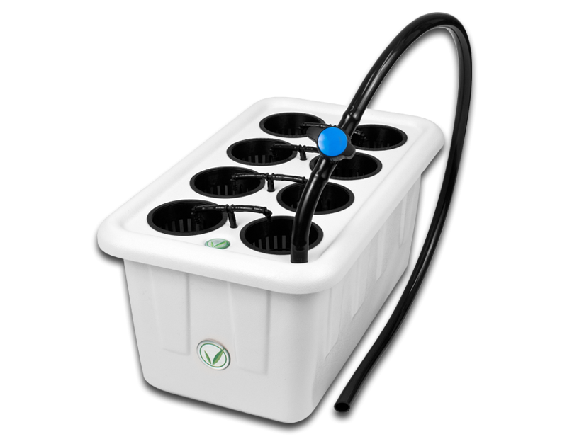 Super Closet SuperPonics 8 Plant Hydroponic Grow System
