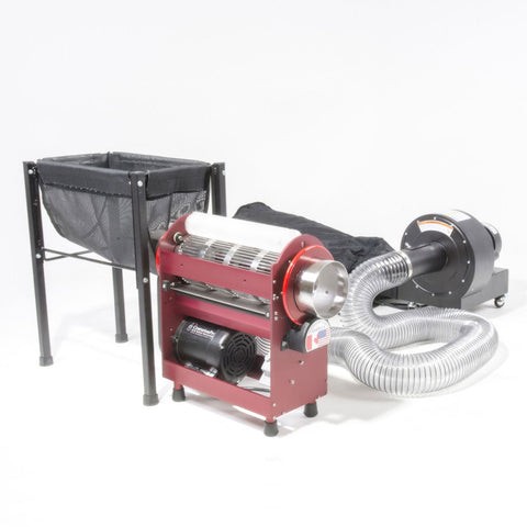 Image of Centurion Tabletop Pro with Quantanium Wet/Dry Tumbler Industrial Leaf Trimmer