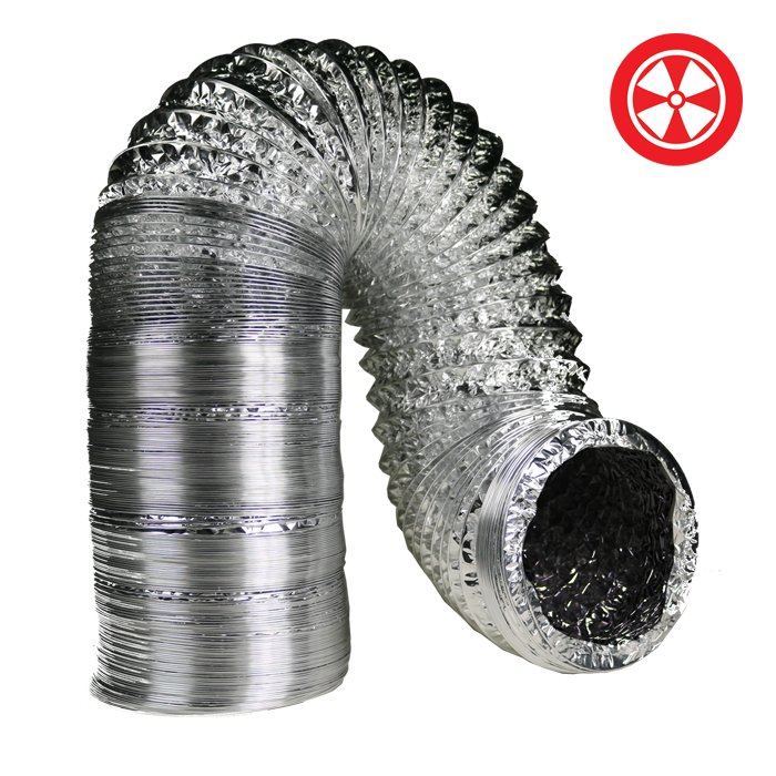 "DL 25' Terra Duct - Diameters 4""-6""-8""-10""-12""-14"""