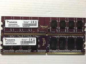 ADATA 2GB  (2GB*1)PC2-6400/5400 DDR2 800/667 Desktop PC Memory DIMM RAM