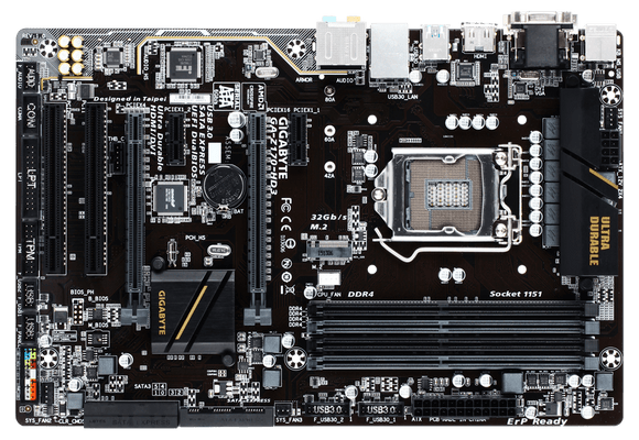Gigabyte Technology GA-Z170-HD3 Desktop computer motherboard,1151 socket,ddr4,ATX,Z170,HDMI