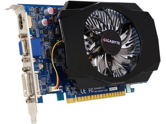 Gigabyte NVIDIA GeForce GTX 630 GV-N630-2GI 2G DDR3 PCI-E HDMI DVI VGA Graphics card