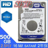 "NEW WD Blue 500GB 2.5"" 7mm 5400 RPM 8MB SATA3 Laptop HDD Hard Drive"