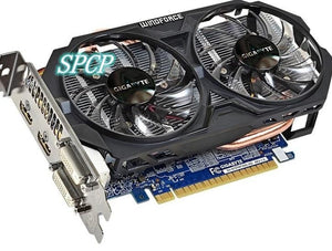 GIGABYTE Nvidia Geforce GTX750TI 2G GV-N75TOC-2GI  ddr5 PCI-E hdmi dvi graphics card